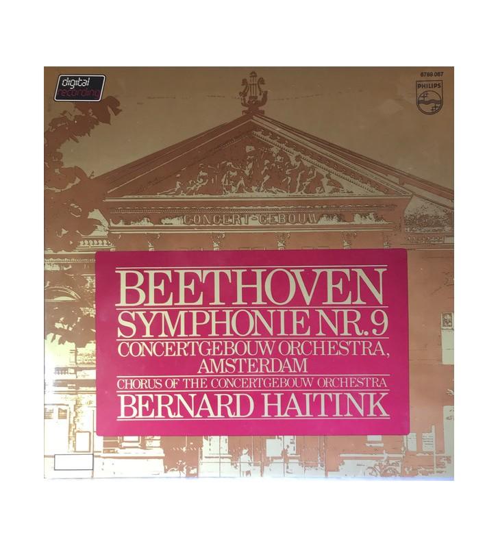 Beethoven* / Bernard Haitink / Concertgebouw Orchestra, Amsterdam* - Symphonie Nr. 9 (2xLP) mesvinyles.fr