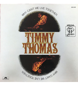 Timmy Thomas - Why Can't We Live Together (LP, Album, RE) mesvinyles.fr