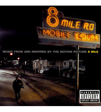 Various - Music From And Inspired By The Motion Picture 8 Mile (2xLP, Album, RE, 180) mesvinyles.fr