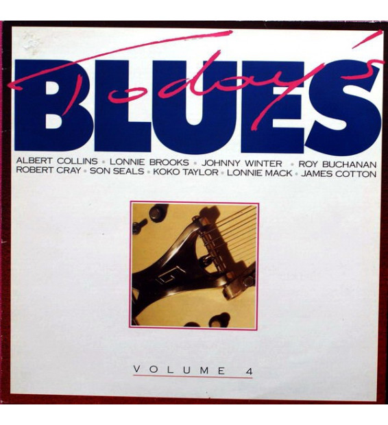 Today's Blues Volume 4 (LP, Comp) mesvinyles.fr