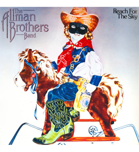The Allman Brothers Band - Reach For The Sky (LP, Album) mesvinyles.fr