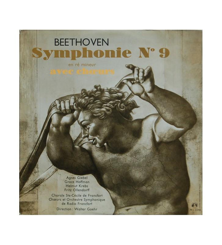 Beethoven*, Chorale Ste-Cécile De Francfort*, Chœurs Et Orchestre Symphonique De Radio Francfort*, Walter Goehr - Symphonie N°