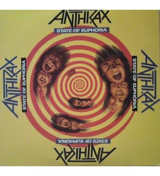 Anthrax - State Of Euphoria (2xLP, Album, Gat) mesvinyles.fr