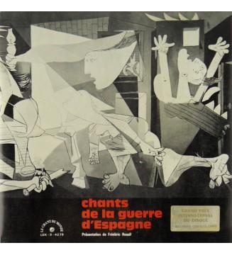 Various - Chants De La Guerre D'Espagne (LP, Comp) mesvinyles.fr