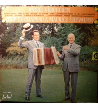 André Verchuren - Coup De Chapeau A Maurice Chevalier (LP) mesvinyles.fr