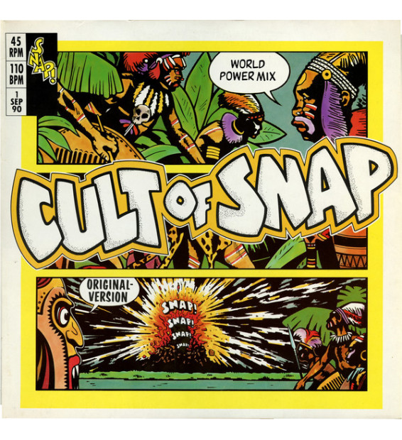"Snap! - Cult Of Snap (World Power Mix) (12"", Maxi) mesvinyles.fr"