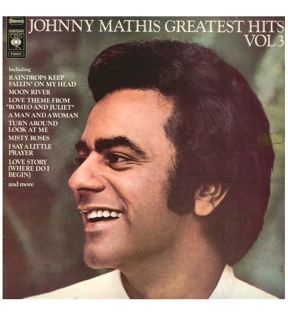 Johnny Mathis - Greatest Hits Vol. 3 (LP, Comp) mesvinyles.fr
