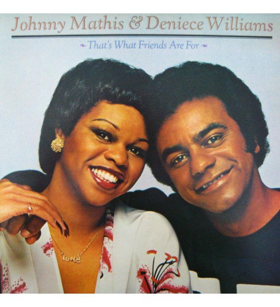 Johnny Mathis & Deniece Williams - That's What Friends Are For (LP, Album) mesvinyles.fr