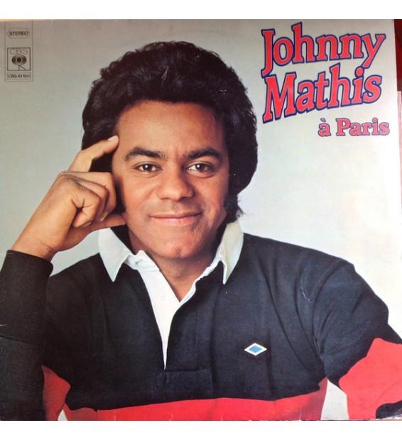 Johnny Mathis - Johnny Mathis à Paris (LP, Comp) mesvinyles.fr