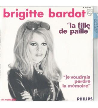 """Brigitte Bardot - La Fille De Paille (7"""", Single) mesvinyles.fr"""