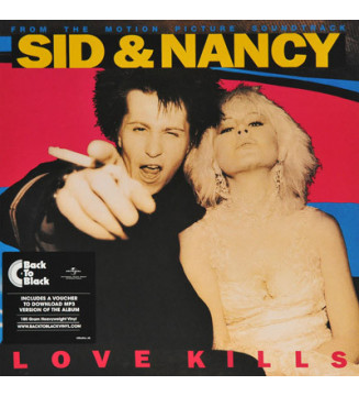 Various - Sid And Nancy: Love Kills (Music From The Motion Picture Soundtrack) (LP, RE, 180) mesvinyles.fr