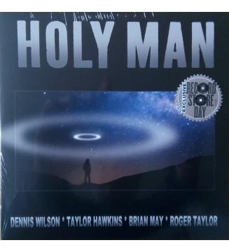 "Dennis Wilson (2), Brian May, Roger Taylor, Taylor Hawkins - Holy Man (7"", Ltd) mesvinyles.fr"