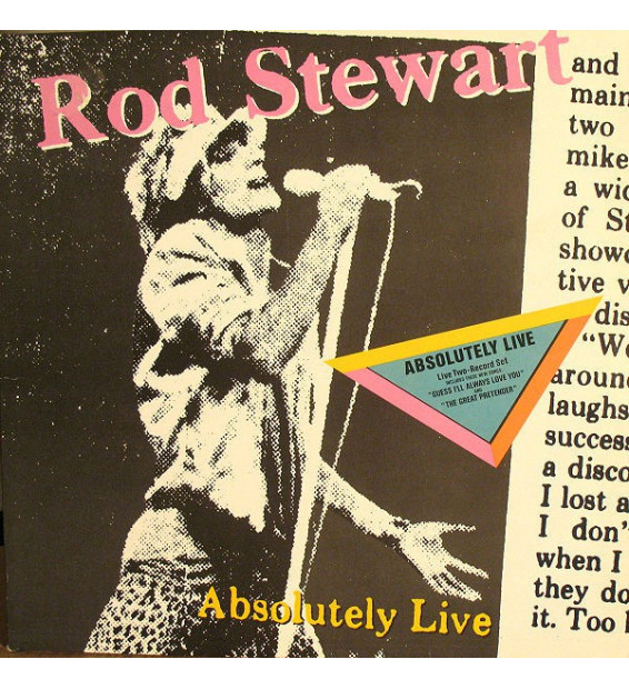 Rod Stewart - Absolutely Live - Vinyle Occasion