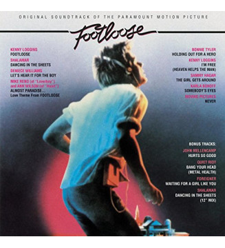 Various - Footloose (Original Motion Picture Soundtrack) (LP, Album, Comp, RE) mesvinyles.fr