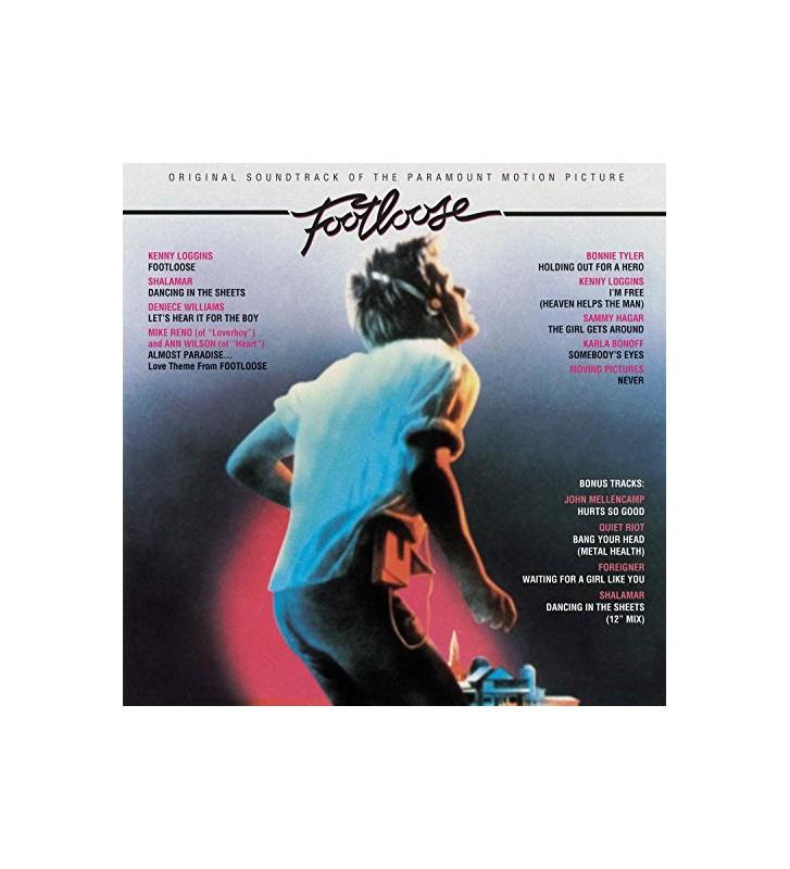 Various - Footloose (Original Motion Picture Soundtrack) (LP, Album, Comp, RE) mesvinyles.fr