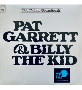 Bob Dylan - Pat Garrett & Billy The Kid - Original Soundtrack Recording (LP, Album, RE) mesvinyles.fr