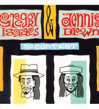 Gregory Isaacs & Dennis Brown - No Contest (LP, Album) mesvinyles.fr
