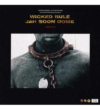 """Martin Campbell & Hi-Tech Roots Dynamics* / Peter Culture & Hi-Tech Roots Dynamics* - Wicked Rule / Jah Soon Come (10"""", Ltd, Nu"""