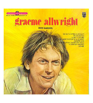 "Graeme Allwright - Petit Garçon (10"", Album, Boo) mesvinyles.fr"