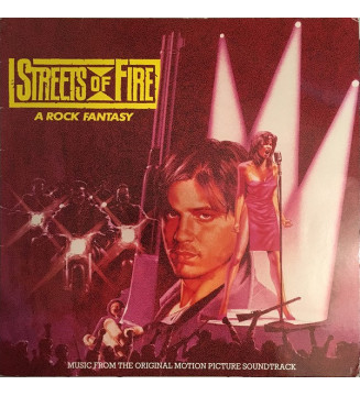 Various - Streets Of Fire - Music From The Original Motion Picture Soundtrack (LP, Comp) mesvinyles.fr