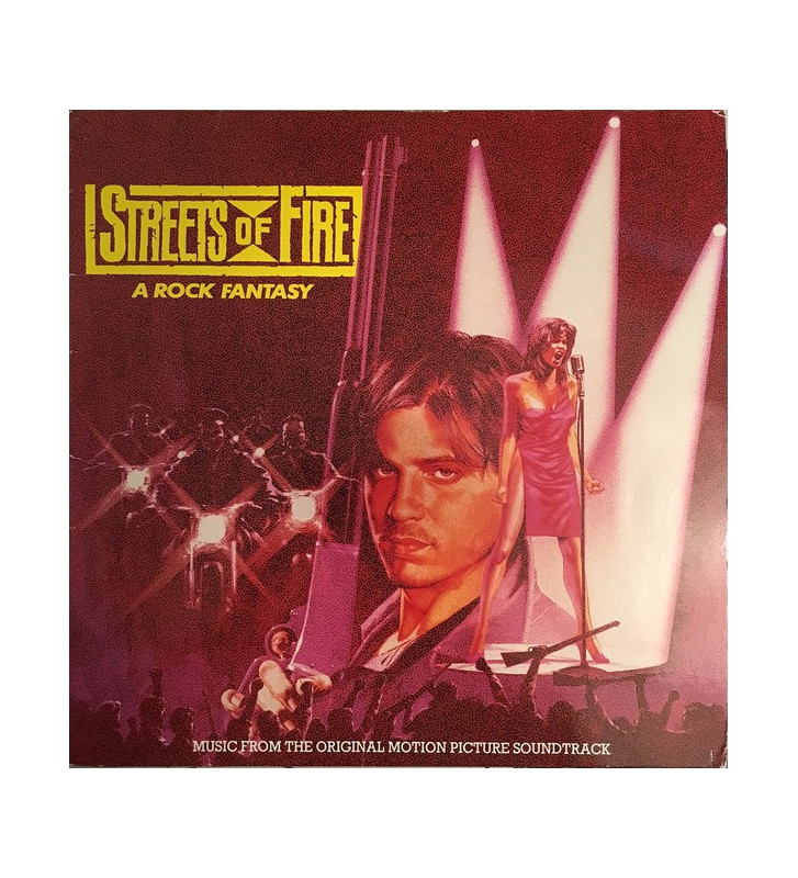 Streets Of Fire - Music From The Original Motion Picture Soundtrack (LP, Comp) mesvinyles.fr