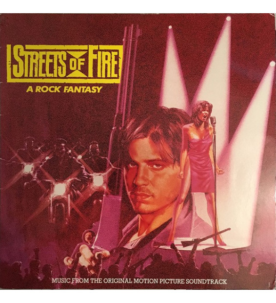 Various - Streets Of Fire - Music From The Original Motion Picture Soundtrack (LP, Comp)