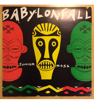 Junior Ross - Babylon Fall (LP, Album, RP) mesvinyles.fr