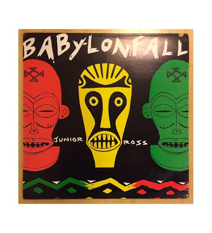 Junior Ross - Babylon Fall (LP, Album, RP) mesvinyles.fr