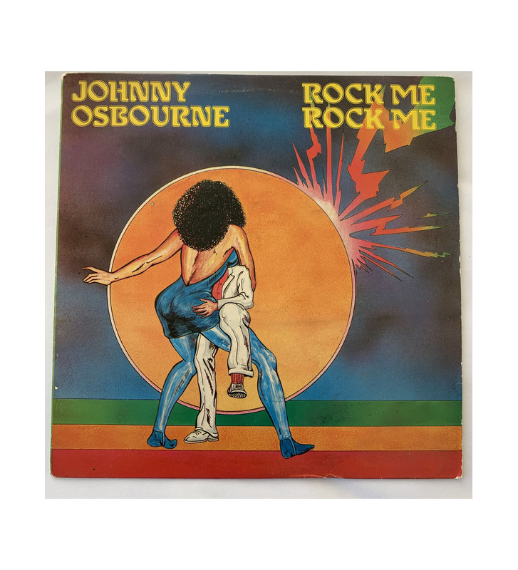Johnny Osbourne - Rock Me Rock Me (LP, Album) mesvinyles.fr