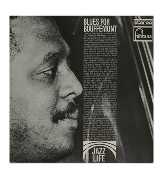 Bud Powell - Blues For Bouffemont - Vinyle Occasion
