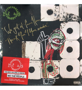 A Tribe Called Quest - We Got It From Here…Thank You 4 Your Service (2xLP, Album)