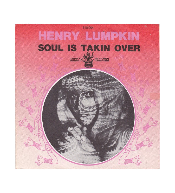 "Henry Lumpkin - Soul Is Takin Over (7"") mesvinyles.fr"