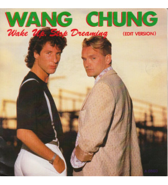 "Wang Chung - Wake Up, Stop Dreaming (Edit Version) (7"", Single) mesvinyles.fr"