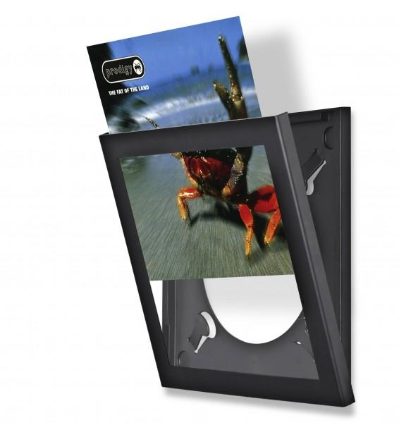 Cadre Noir Pour Disque Vinyle a Ouverture basculante mesvinyles.fr