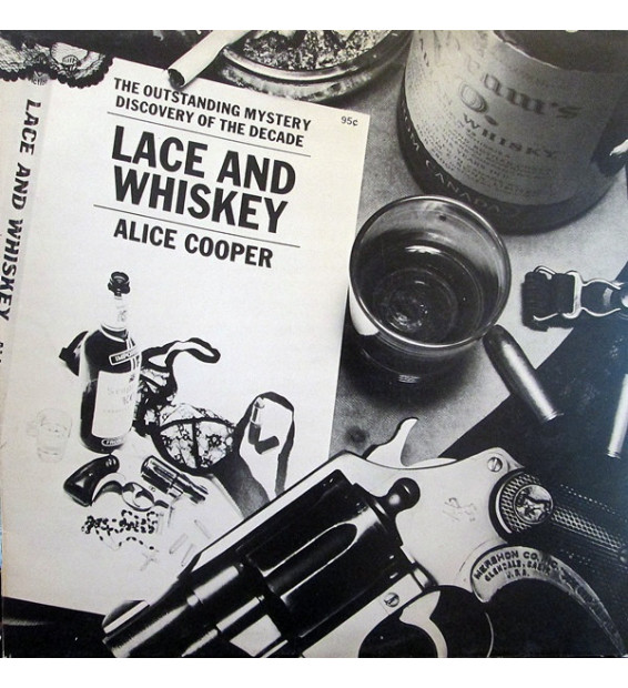 Alice Cooper (2) - Lace And Whiskey (LP, Album) mesvinyles.fr
