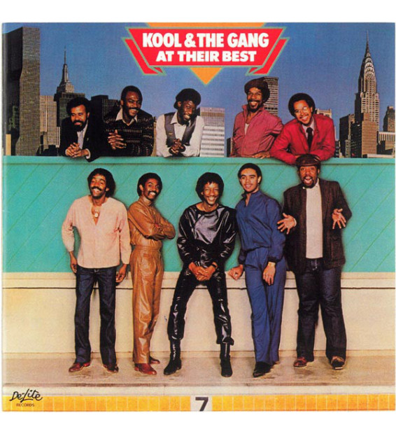Kool & The Gang - At Their Best (LP, Comp) mesvinyles.fr
