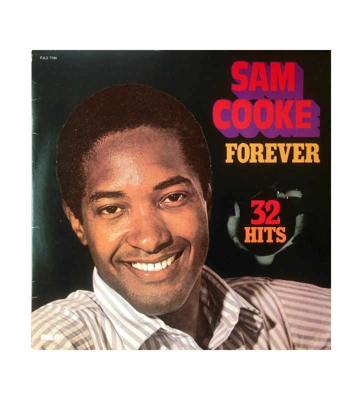 Sam Cooke - Forever (2xLP, Comp, Bla) mesvinyles.fr