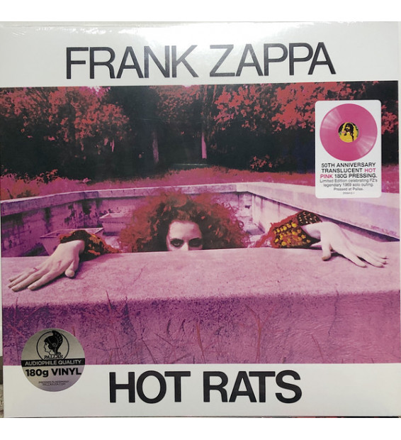 Frank Zappa - Hot Rats (LP, Album, Ltd, RE, RM, Hot) mesvinyles.fr