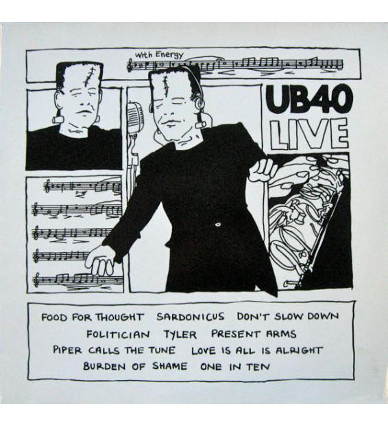 UB40 - Live (LP, Album) mesvinyles.fr