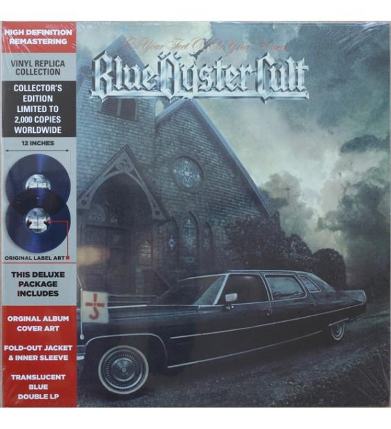 Blue Öyster Cult - On Your Feet Or On Your Knees (2xLP, Album, Ltd, RE, RM, Blu) mesvinyles.fr