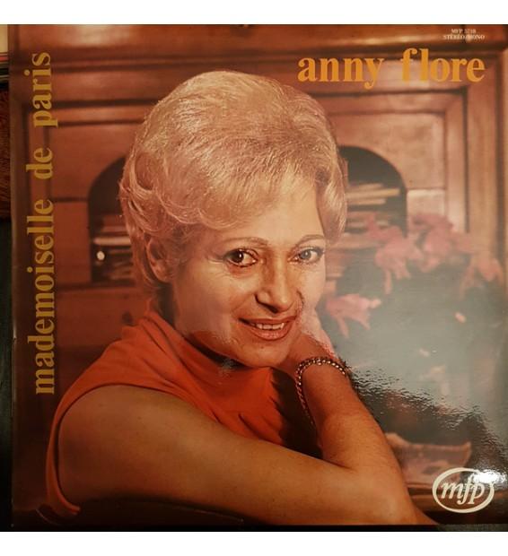 """Anny Flore - Mademoiselle De Paris (12"""") mesvinyles.fr"""
