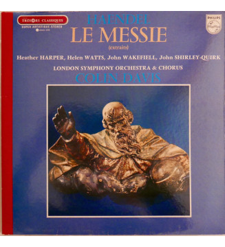 Haendel* - Le Messie (Extraits) (LP, Album, RE, Red) mesvinyles.fr