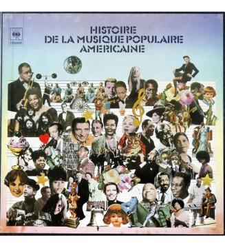 Various - Histoire De La Musique Populaire Américaine (5xLP, Comp) mesvinyles.fr
