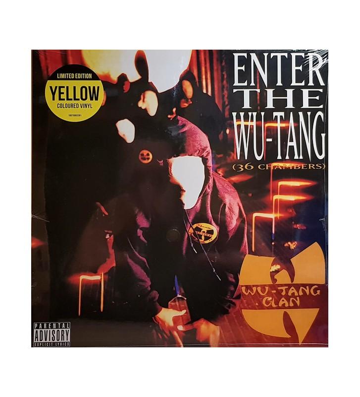 Wu-Tang Clan - Enter The Wu-Tang (36 Chambers) (LP, Album, Ltd, RE, Yel) mesvinyles.fr