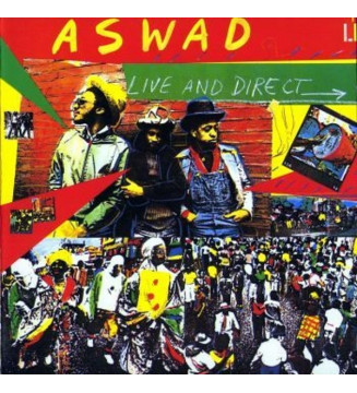 Aswad - Live And Direct (LP, Album) mesvinyles.fr