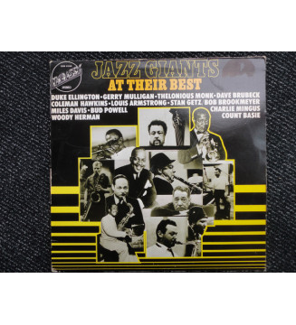 Various - Jazz Giants At Their Best (LP, Comp) mesvinyles.fr