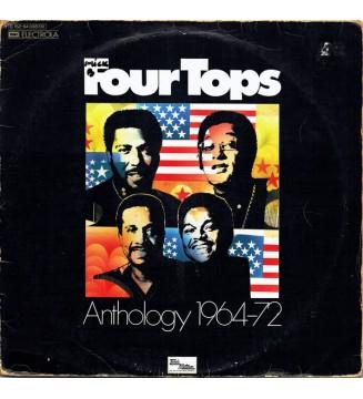 Four Tops - Anthology 1964-72 (2xLP, Album, Comp, Gat) mesvinyles.fr