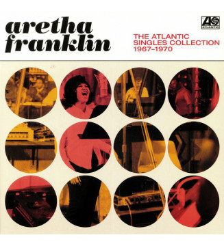 Aretha Franklin - The Atlantic Singles Collection 1967-1970 (2xLP, Comp) mesvinyles.fr