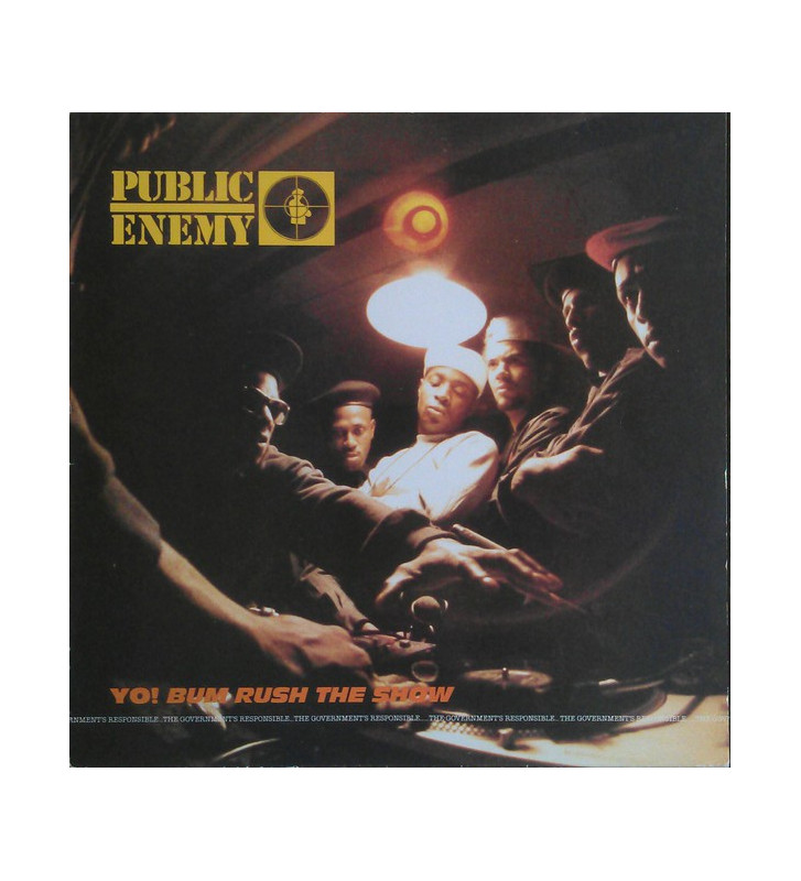 Public Enemy - Yo! Bum Rush The Show (LP, Album) mesvinyles.fr