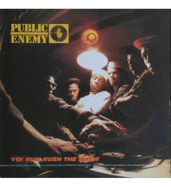 Public Enemy - Yo! Bum Rush The Show (LP, Album)